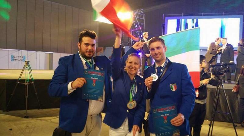 """""""La Patria si serve anche tagliando i capelli"""", Italia : medaglia d'argento ai mondiali di Seul"""